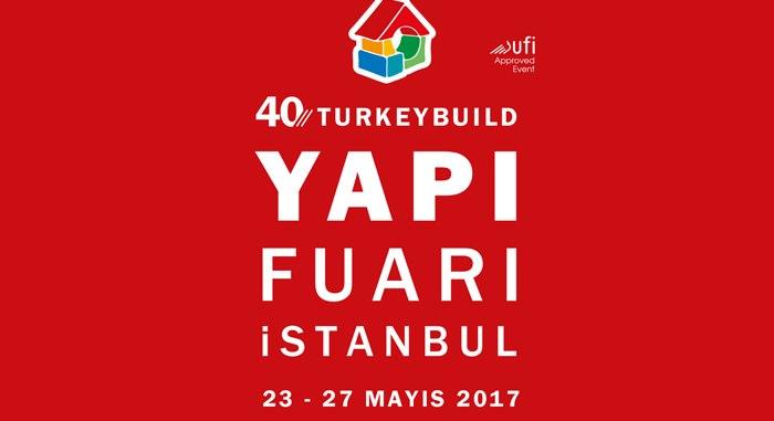40. Turkeybuild - İstanbul Yapı Fuarındayız.