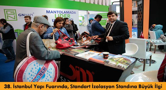 Standart İzolasyon 2015 İstanbul Yapı Fuarı Standı Büyük İlgi Gördü