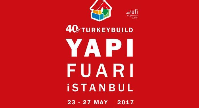 40. YAPI – TURKEYBUILD Istanbul Fuarındayız