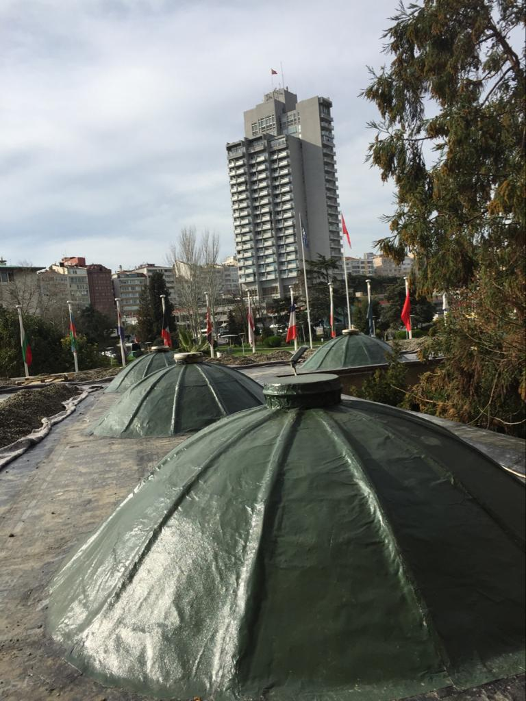 Güven İzolasyon-Hilton İstanbul Bosphorus Japon Bahçesi-SİM Panda, SİM Self Bant