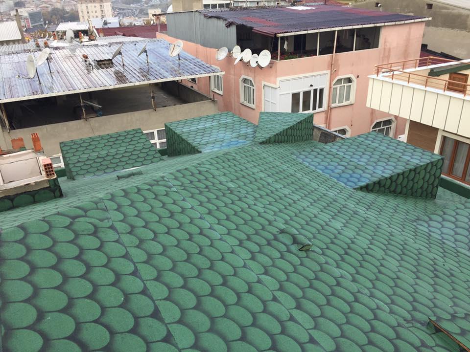 Enar Yapı-AYS İnşaat Bayrampaşa Çatı Yalıtımı-SİM Quickshingle