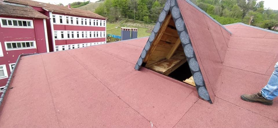 Şirin İnşaat-Ordu Çaybaşı- Çatı Yalıtımı-SİM Penguen Arduazlı