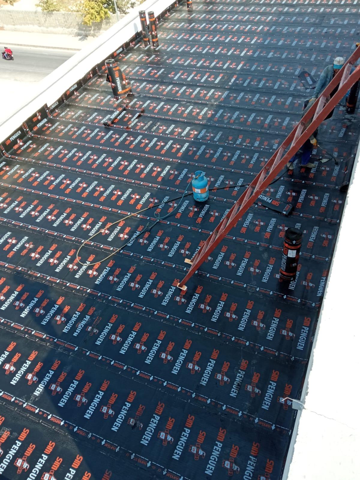 Yuvam İzolasyon – Tombiş Tekstil Bursa Projesi – SİM Penguen Membran Uygulama