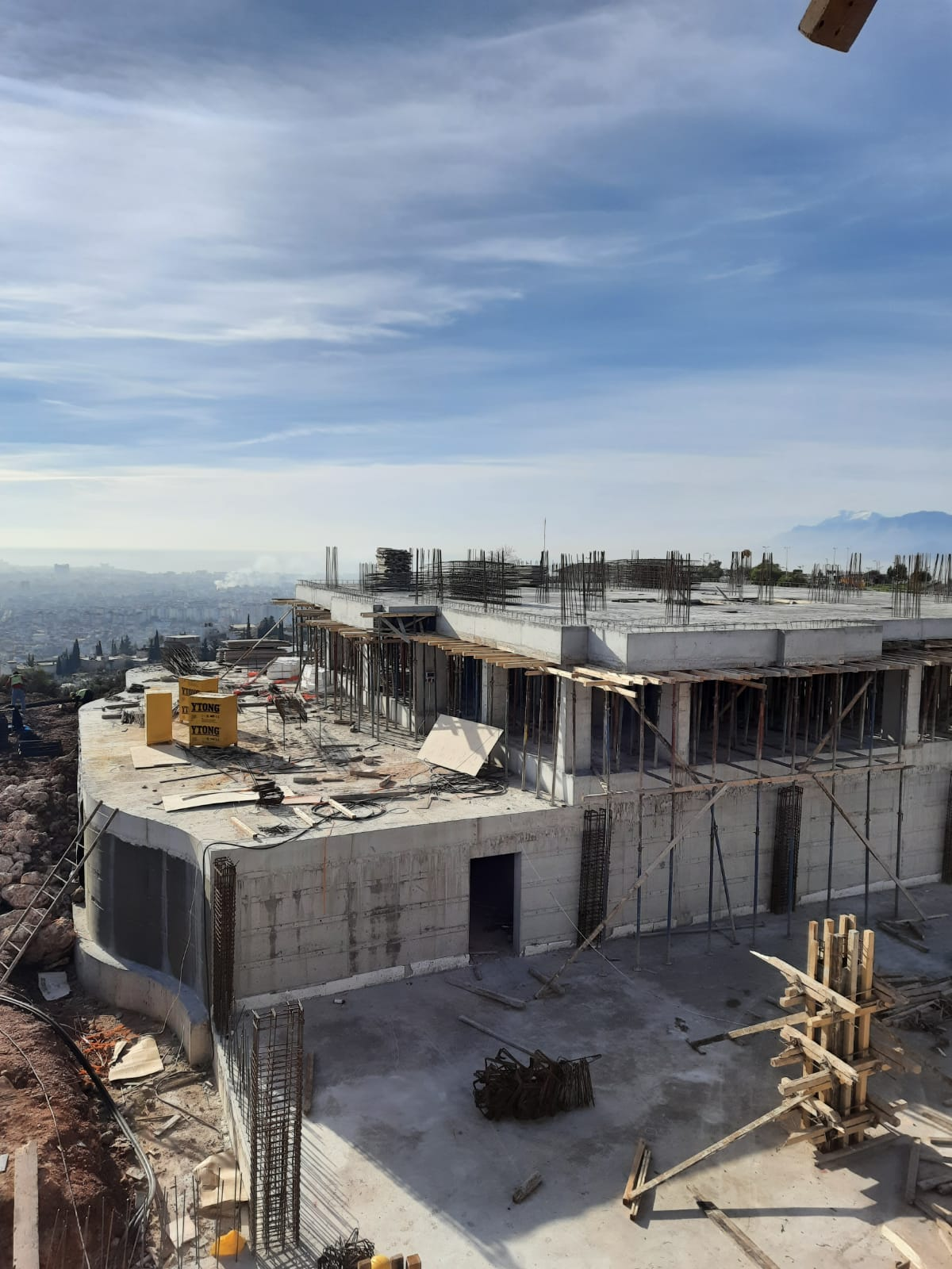 İltemir İnşaat, Nefes Antalya Projesi – Estply Plywood Uygulama