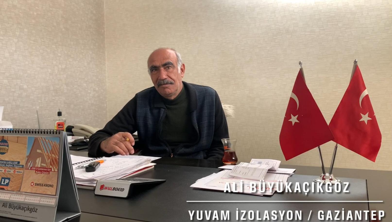 Yuvam İzolasyon Ali Büyükaçıkgöz Röportaj